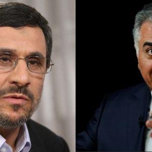 احمدینژاد و رضا پهلوی هر دو یک حرف را میزنند