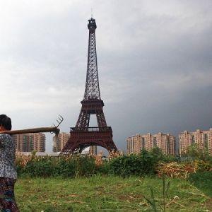 (عکس) برج ایفل چینی هم ساخته شد!