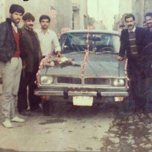 (عکس) ماشین عروس جالب دهه شصتی