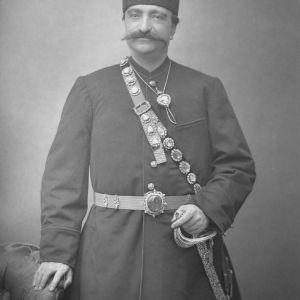 (عکس) مراسم تشییع جنازه ناصرالدین شاه