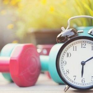 بهترین زمان برای ورزش کردن چه وقتی است؟
