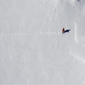 عکس جدید از لاشه هواپیمای تهران-یاسوج در ۳متر برف