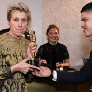 جایزه اسکار به سرقت رفت!
