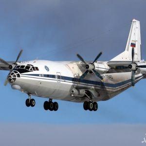 فیلم لحظه سقوط هواپیمای ترابری آنتونوف روسیه در سوریه