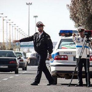 فیلم جریمه خودرو پلیس توسط مامور راهنمایی و رانندگی