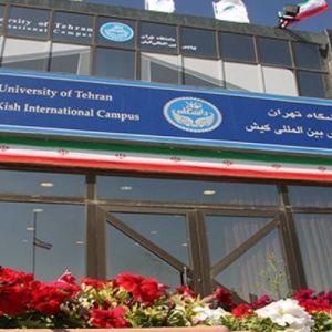 پذیرش دانشجوی بینالمللی ارشد و دکتری در پردیس کیش دانشگاه تهران