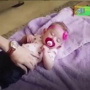 (فیلم) پدر آمریکایی نوزادش را دو نصف کرد!