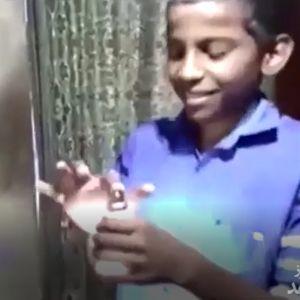 (فیلم) نیروی جادویی پسر ۹ ساله!