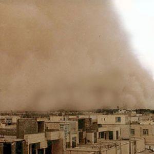 (فیلم) طوفان بیسابقه یزد را درنوردید