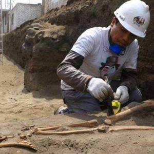 تدفین عجیب انسانهای ۱۹۰۰ سال پیش