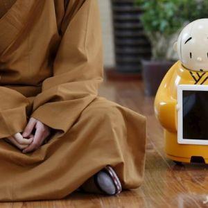 ربات راهب بودایی ساخته شد!