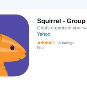 یاهو یک پیام رسان به نام  Squirrel ارائه داده است!