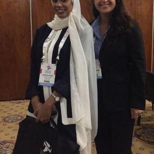 تصویر جنجالی نمایندگان زن امارات و اسرائیل