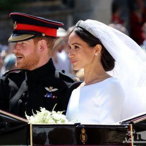 (عکس) غمگینترین دختر در عروسی سلطنتی