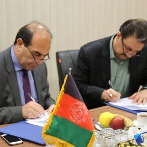 دیدار رئیس دانشگاه کابل با رئیس دانشگاه علامه طباطبائی