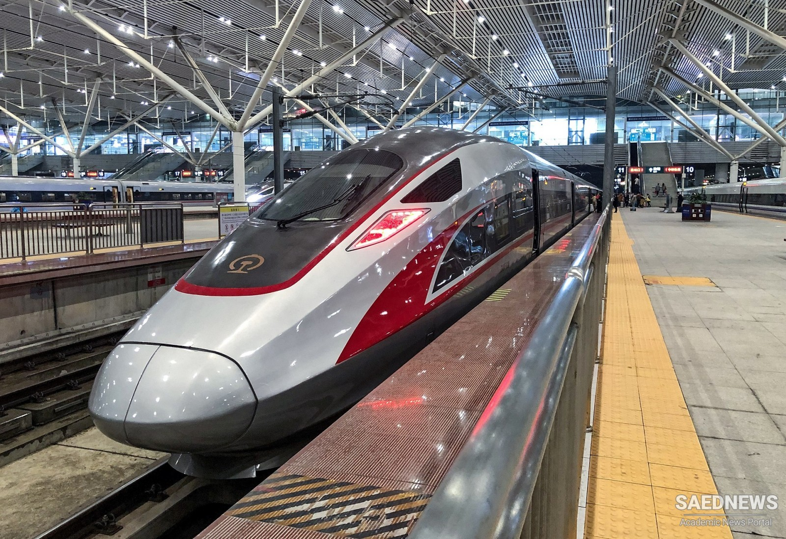 The Fastest High Speed Rail in the World Unveiled in China