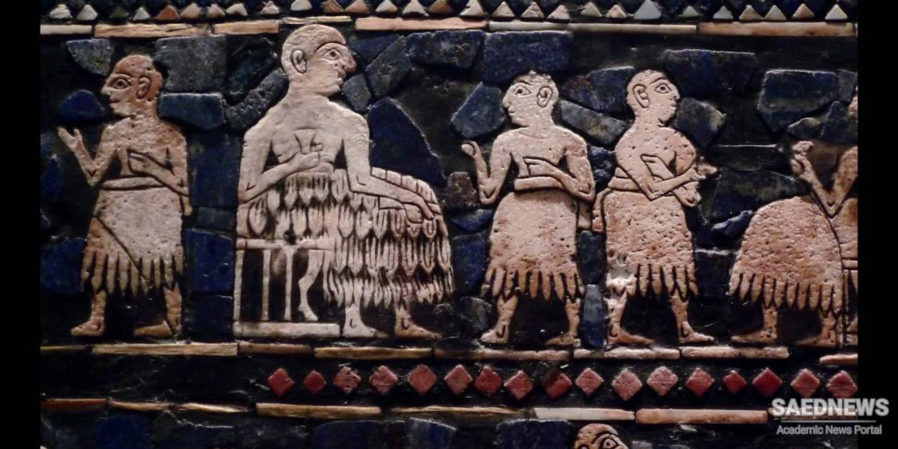 Sumerian Religion and Early Human Presence in Art