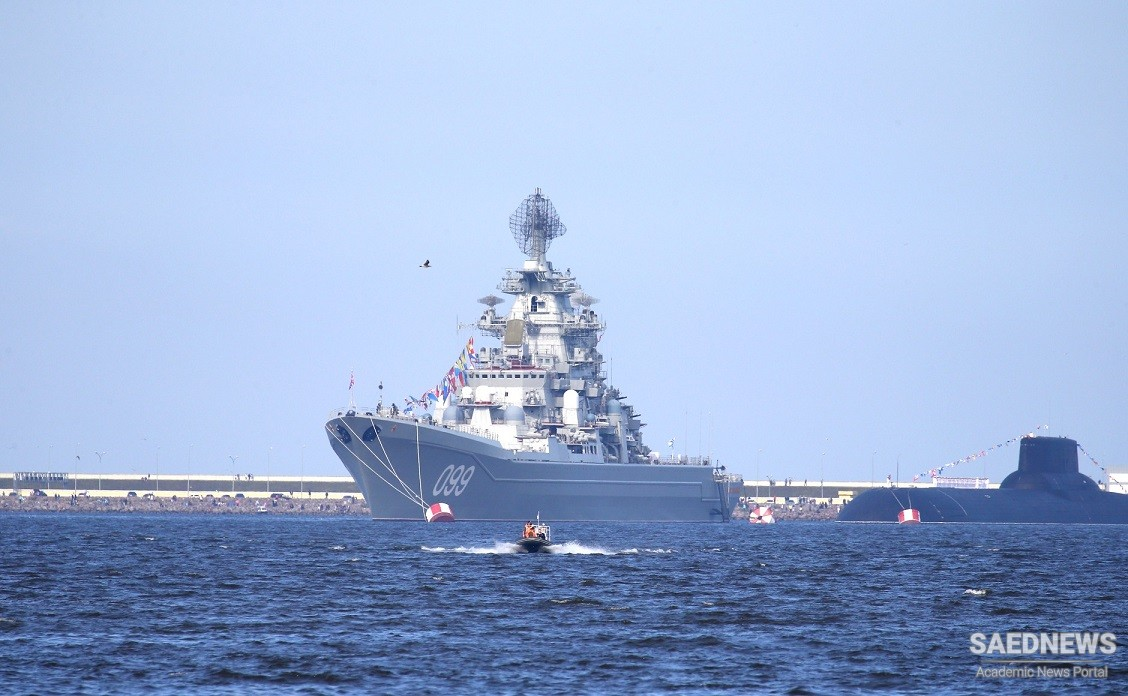 Navy Commander Hails 'Historic' Presence of Iranian Ships in Gulf of Finland