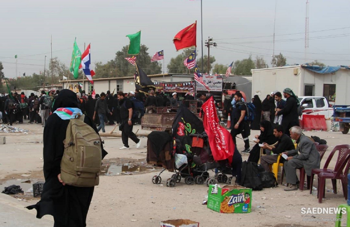 Iranian Pilgrims Storm the Border with Iraq to Take Part in Arbaeen