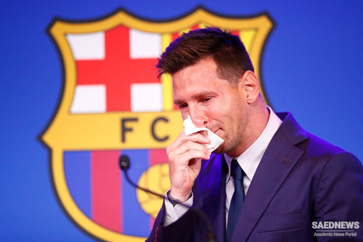 Messi holds final press conference for FC Barcelona