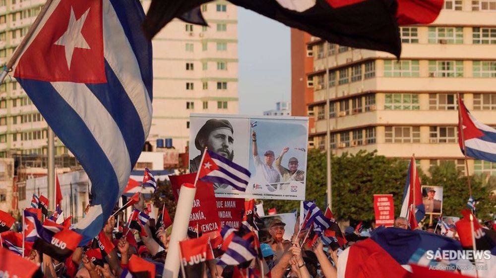 US 'weaving Walt Disney narrative of protests' to justify intervention: Cuba