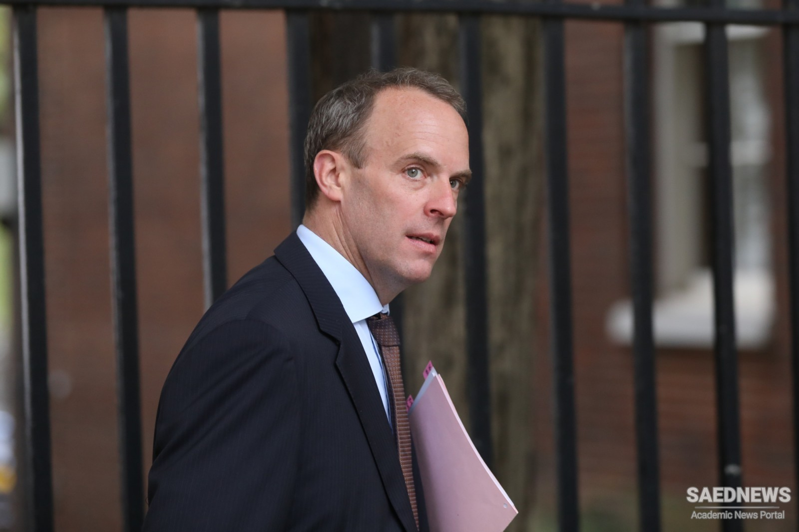 Dominic Raab Holds First Talk with Iranian Counterpart
