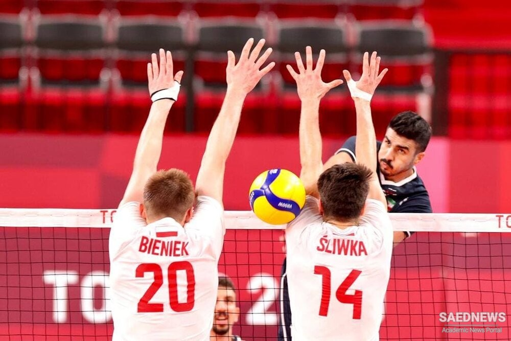 The Sweet Moment of Victory: Iran Beats Polish Volleyball Giant in Tokyo 2020