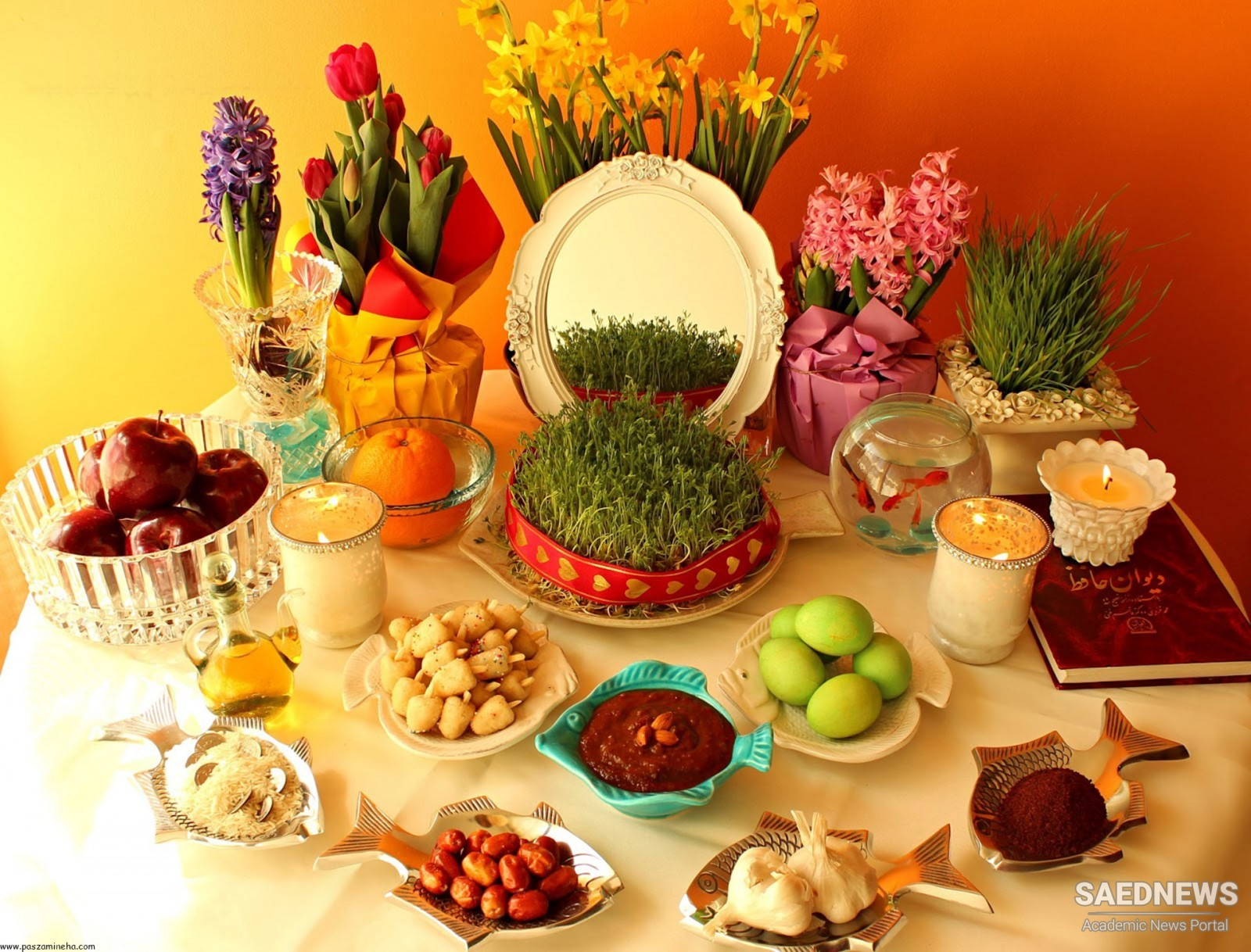Nowruz: Celebration of the Arrival of Spring in Persia