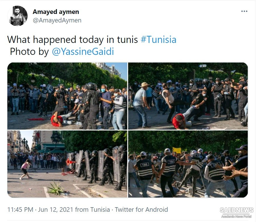 Tunisians rally against police brutality