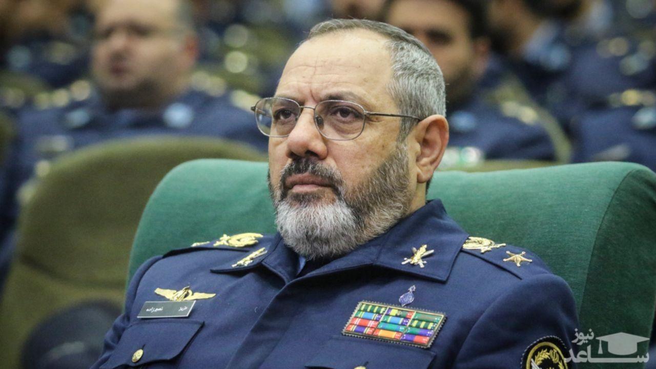 امیر سرتیپ نصیرزاده: پهپادهای جدید نیروی هوایی رونمایی می شود