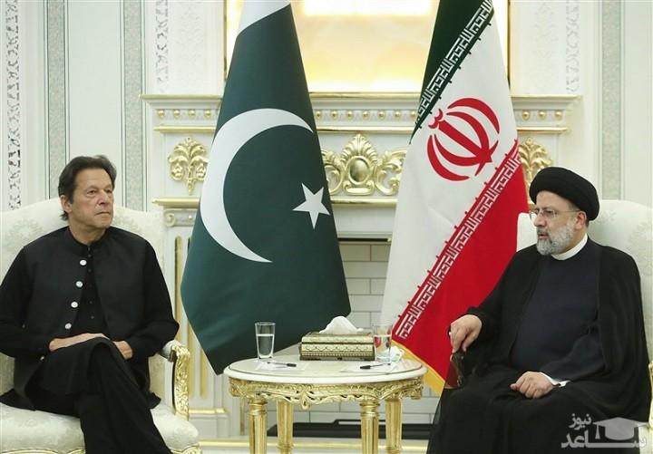 دیدار رئیسی و عمرانخان  ظرفیتهای ارزشمندی برای گسترش مناسبات بین تهران و اسلام آباد وجود دارد