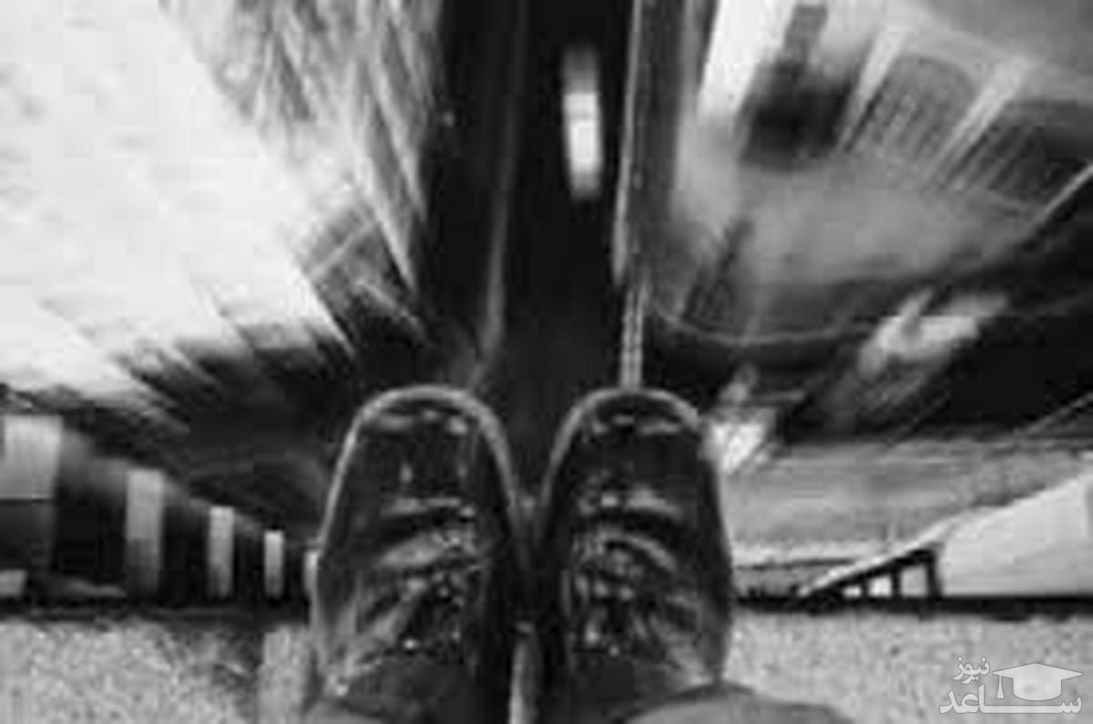 (فیلم) دخالت غیرحرفهای مردم باعث سقوط و خودکشی دختر یزدی از روی پل شد