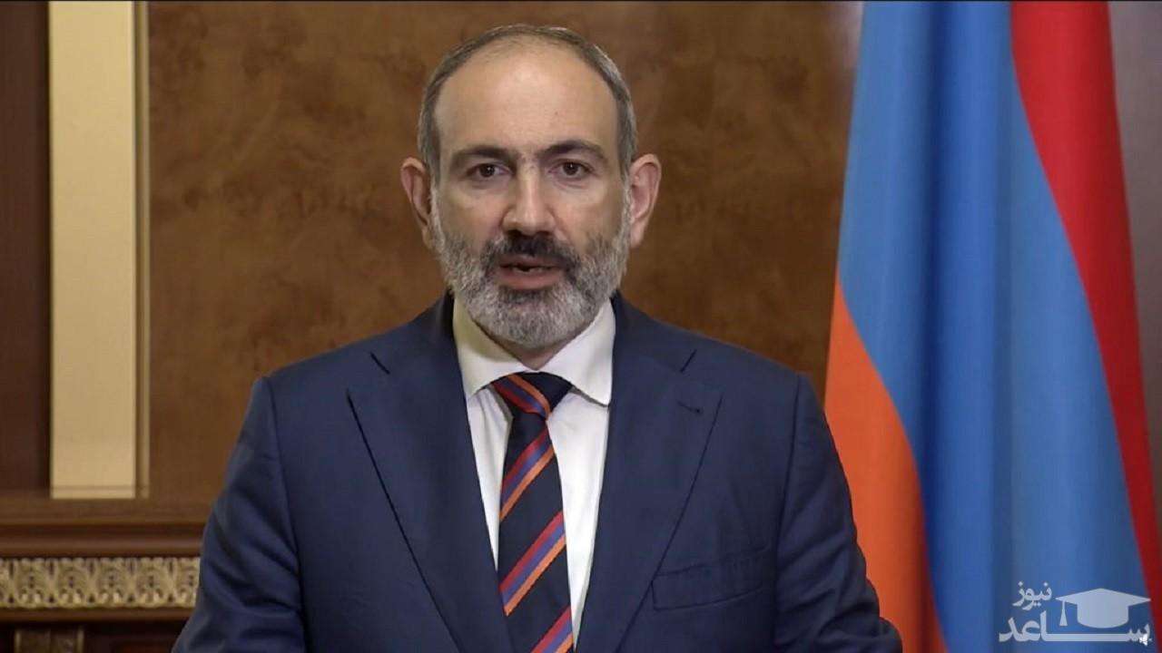 شرکت پاشینیان، نخست وزیر ارمنستان در مراسم تحلیف رئیسی