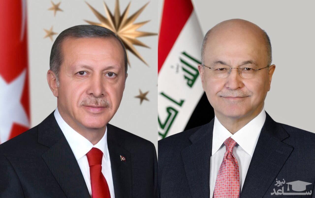 تاکید وزیر خارجه عراق بر اهمیت تقویت روابط عراق و ترکیه