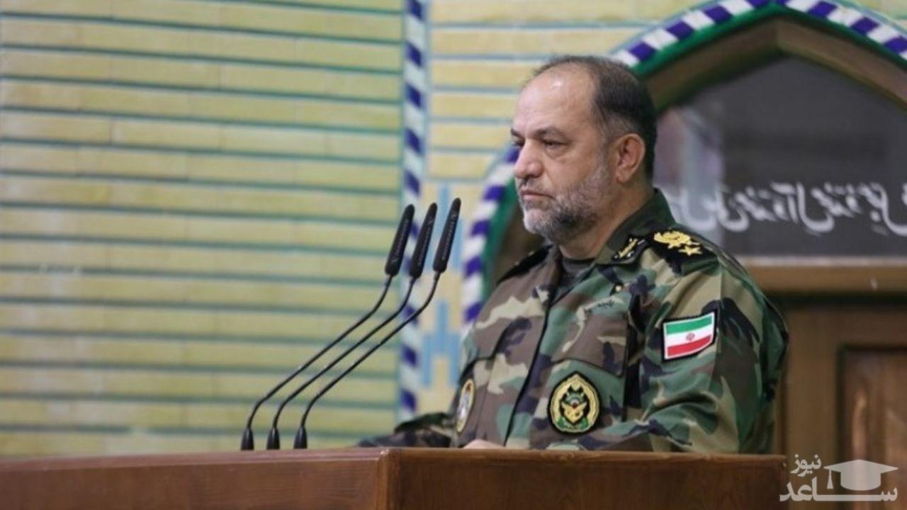 امیر شعبانیان: تاکنون هیچ سربازی در وزارت دفاع به کرونا مبتلا نشده است