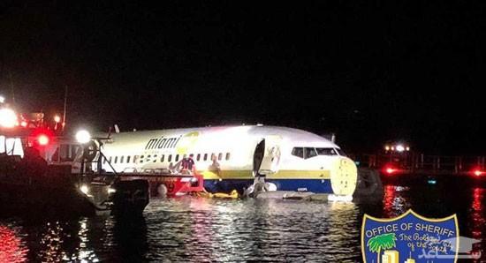 سقوط بوئینگ ۷۳۷ در رودخانه فلوریدا
