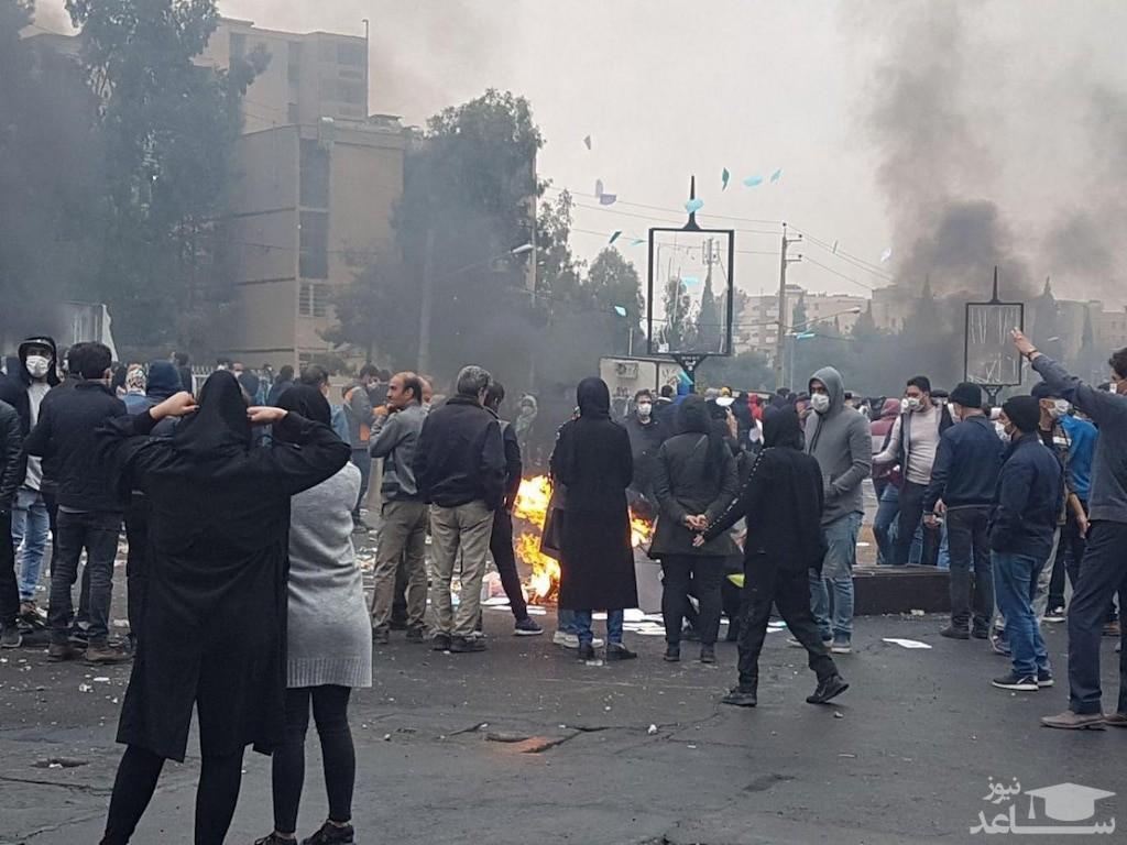 صحبت های تکان دهنده نیروی یگان ویژه تبریز خطاب به معترضان+فیلم