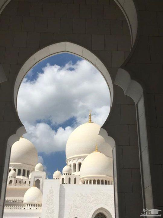 مسجد جامع شیخ زائد در شهر ابوظبی