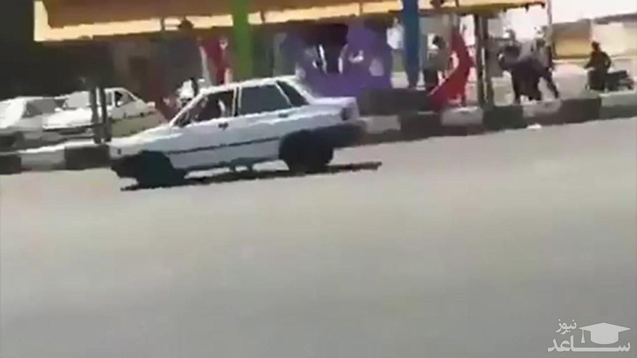 (فیلم) نجات جان یک کودک توسط پلیس