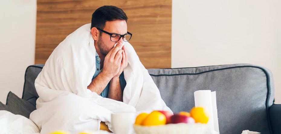 تاثیر سرماخوردگی و آنفولانزا بر کیفیت اسپرم مردان
