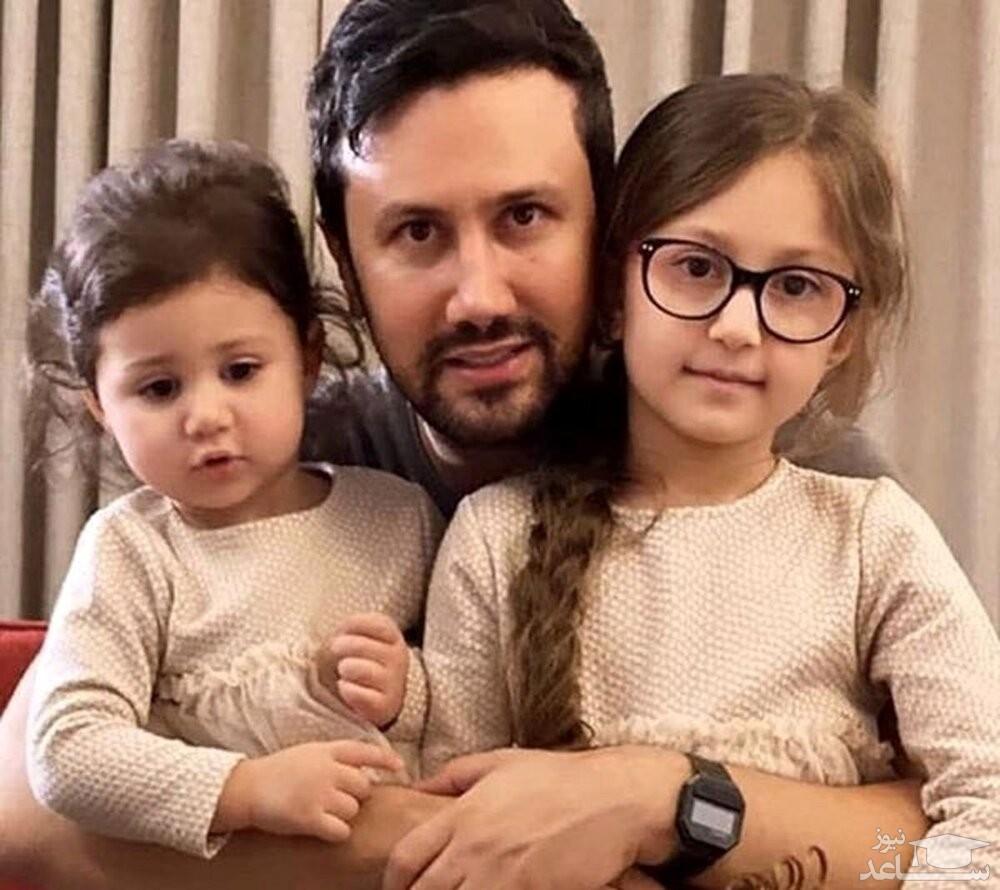 ورزش صبحگاهی شاهرخ استخری و دخترش