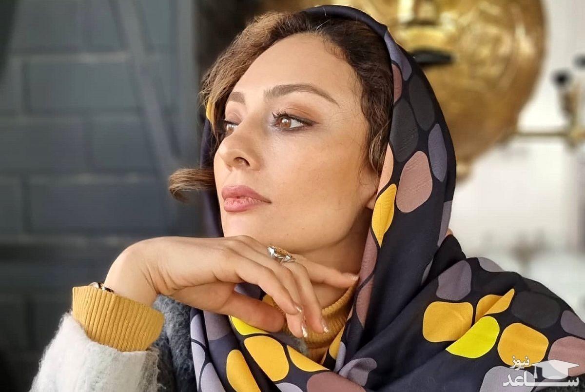 چهره زیبای یکتا ناصر با میکاپ ملایم