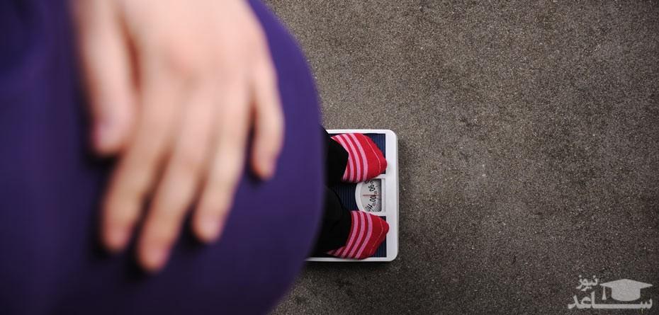 دلایل کاهش وزن در بارداری