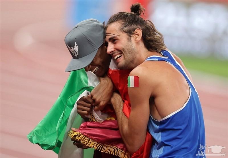 اتفاقی نادر در المپیک؛ یک مدال و ۲ قهرمان!