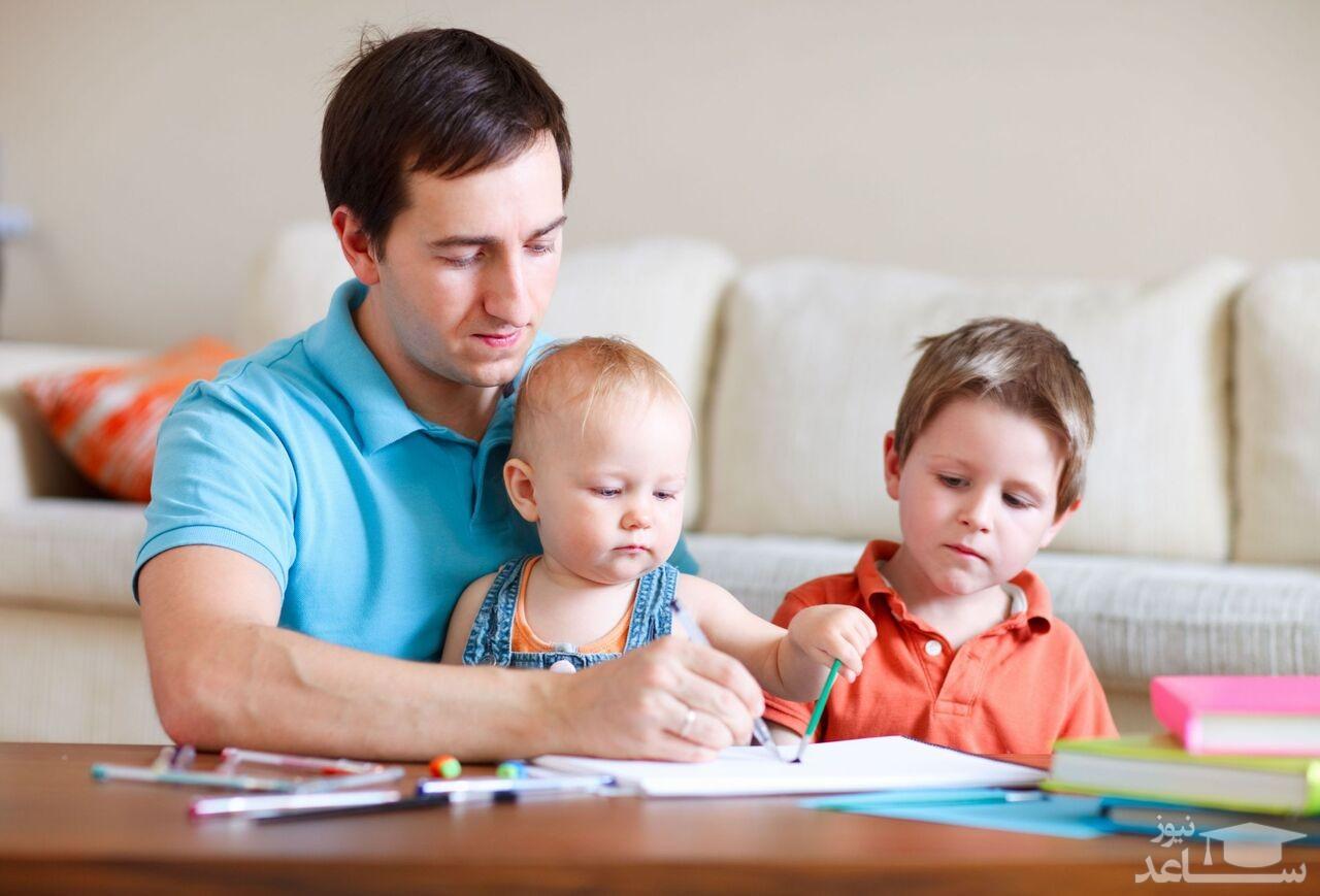 بچه ها را چگونه در خانه سرگرم کنیم؟