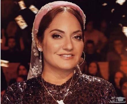 واکنش مهناز افشار به حجابش در برنامه پرشیاگات تلنت