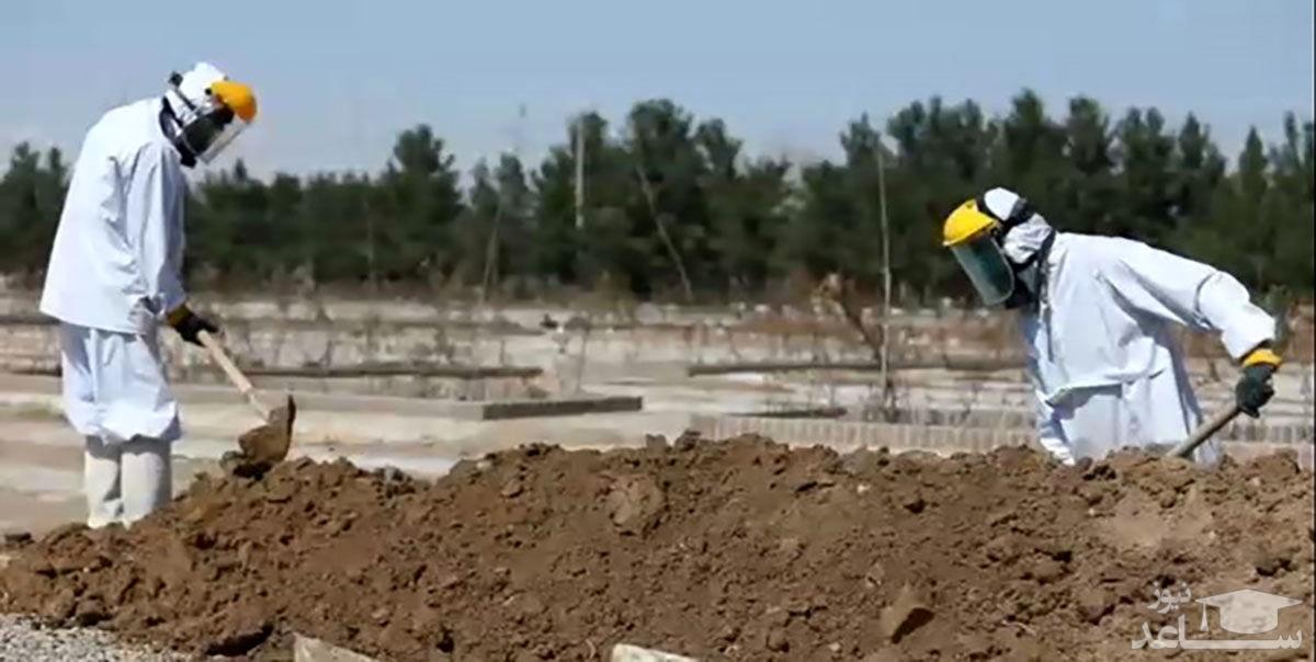 اعلام آمار روزانه فوتیهای کرونا در پایتخت