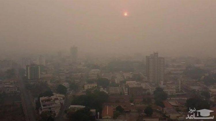شاخص آلودگی هوای تهران امروز ۲۴ دی ۹۹؛ کیفیت هوا در همه نقاط تهران قرمز شد
