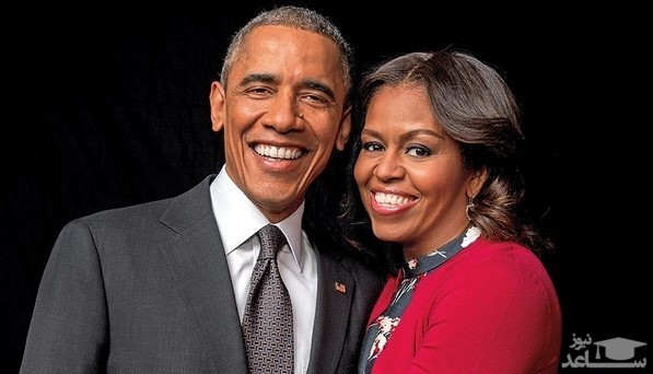 کار جالب رئیس جمهور  اوباما و همسرش