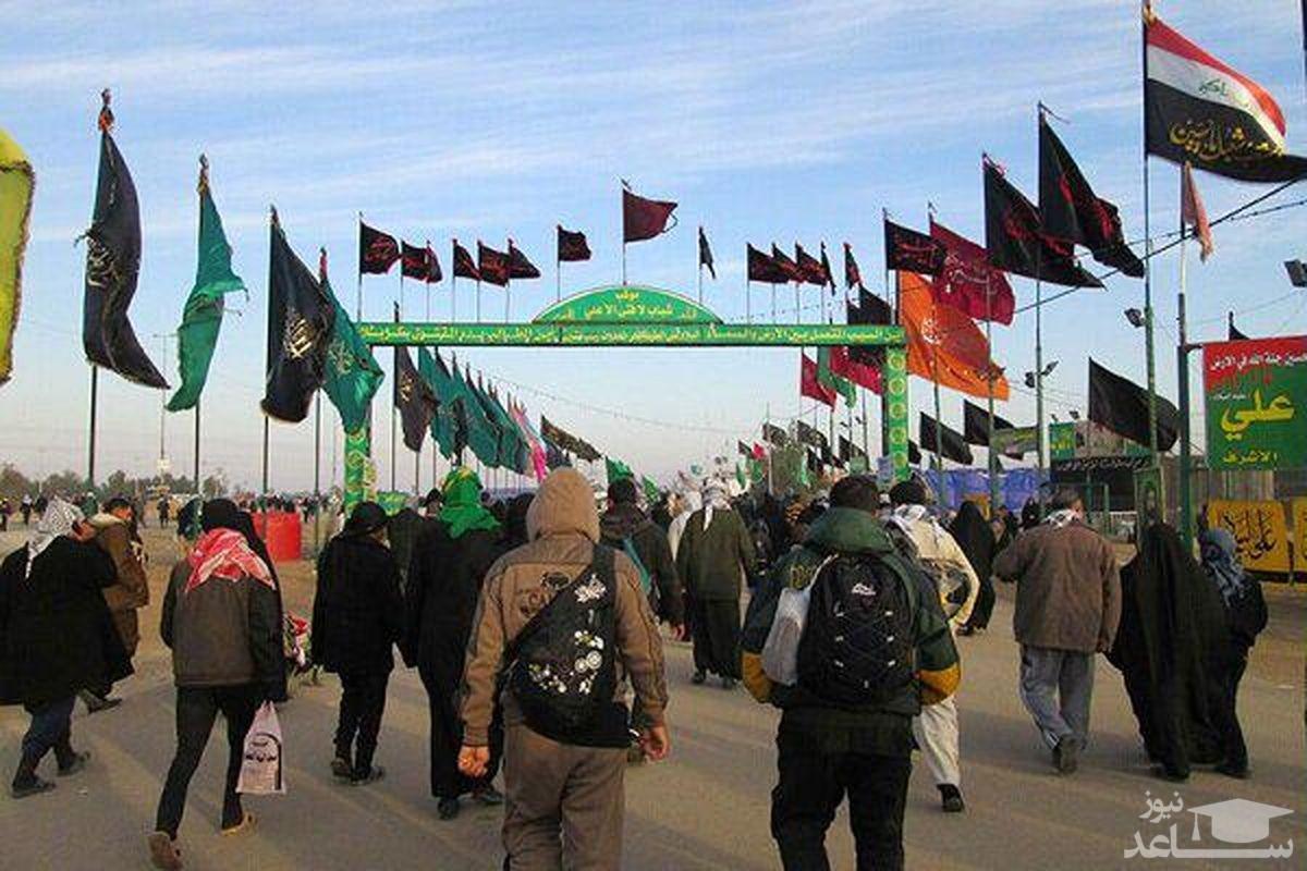 ورود حجم زیادی از زائران به کشور از مرز شلمچه